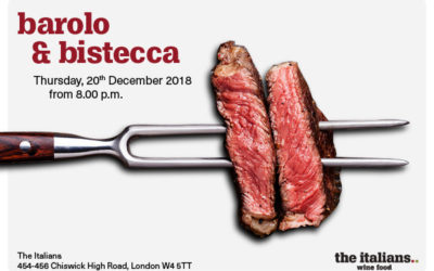 barolo & bistecca | thursday 20th december from 8pm..